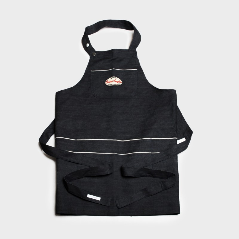 Le tablier de cuisine Denim