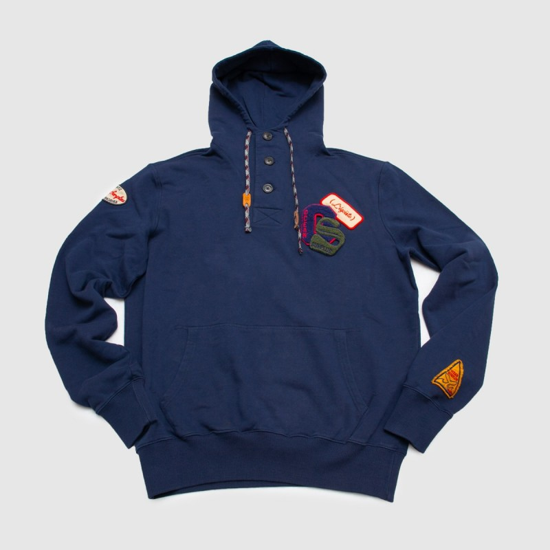 Le Sweat Vintage Patch Indigo