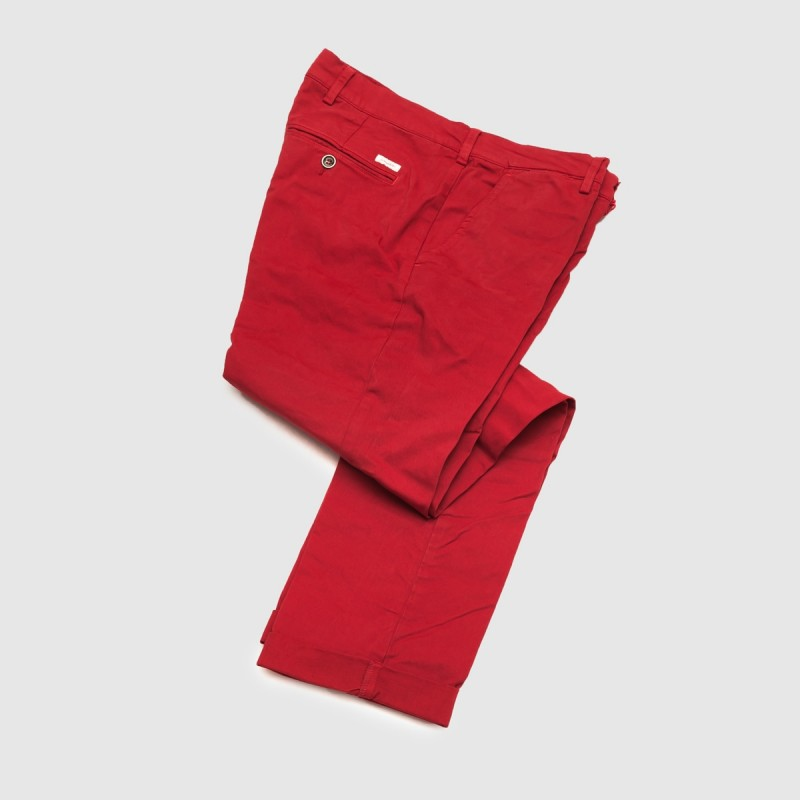 Le Chino Winter Rouge