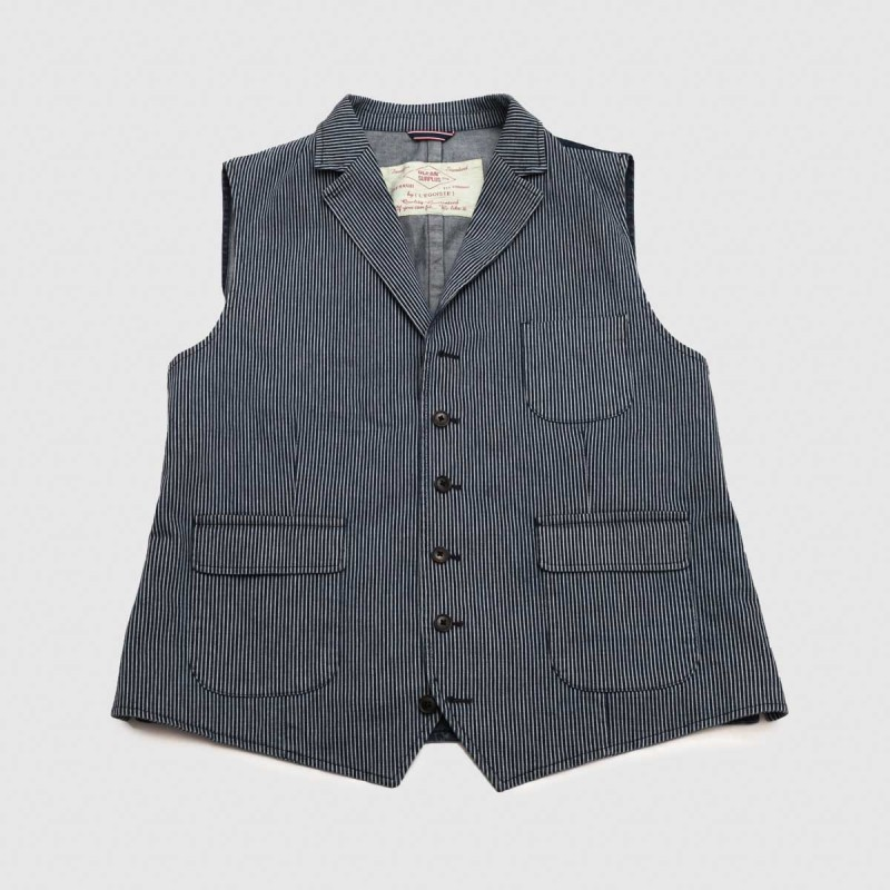 Le Gilet Marius Ticking 2