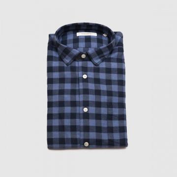 La Chemise Milano Wool Bleu