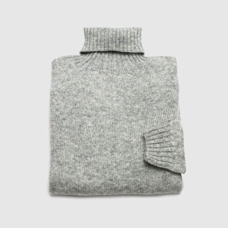 Le Pull Navigator Gris
