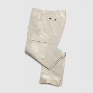 Le Pantalon Cargo Ecru