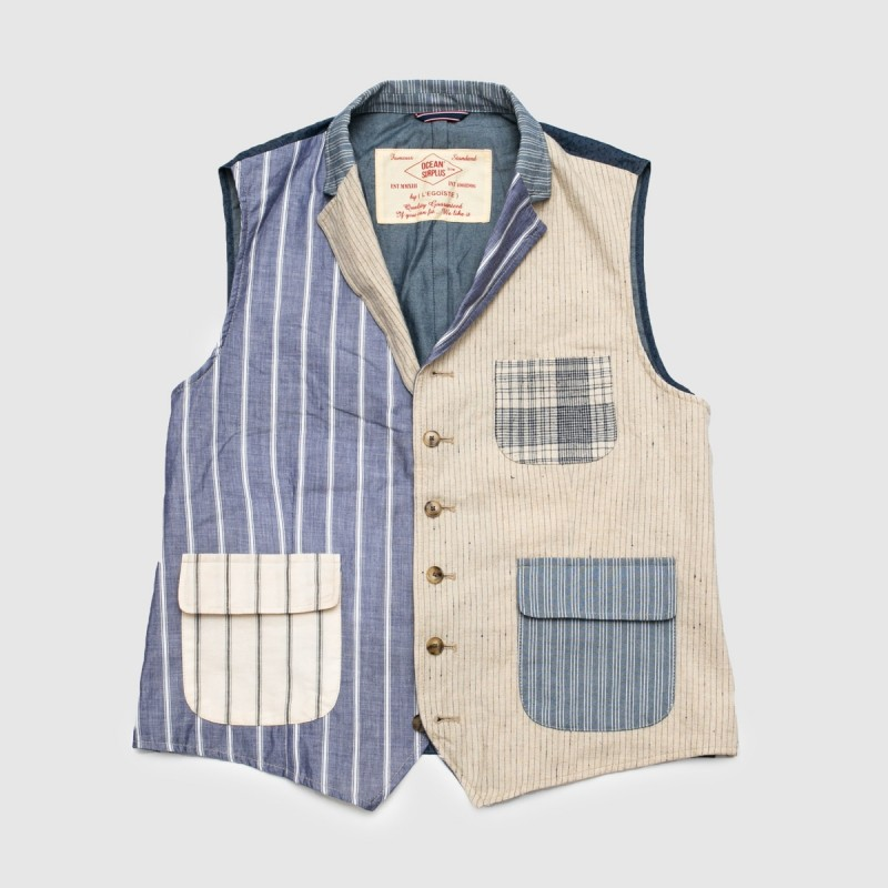 Le Gilet Marius Patch Multi...