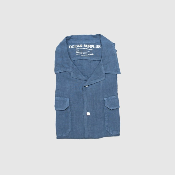 La Chemise Havana Lino Bleu...