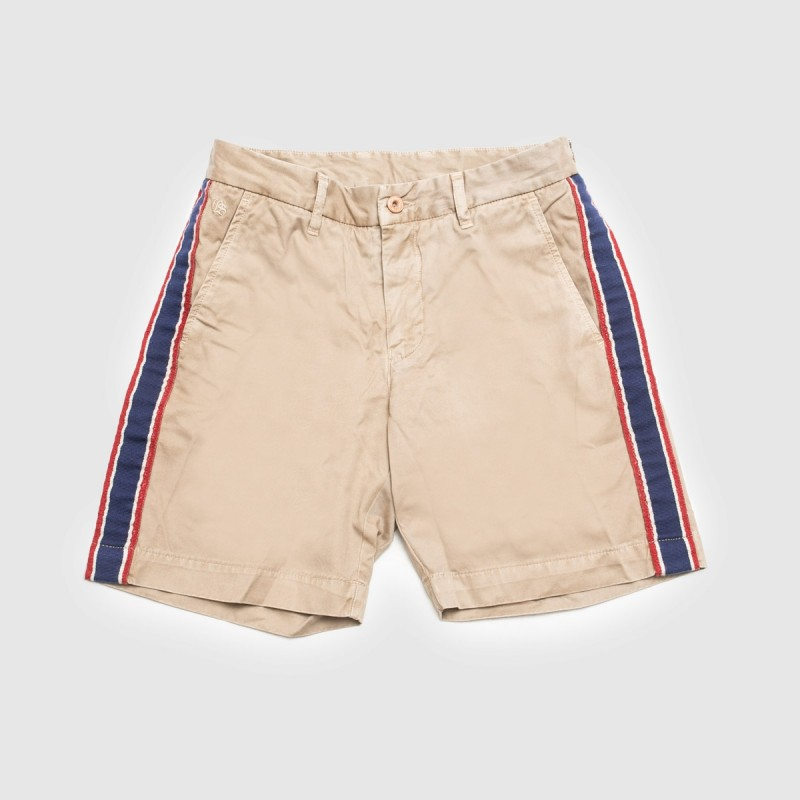 Le Short Ribbon Beige