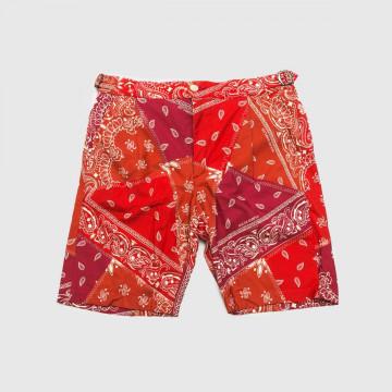Le Cool Short Bandana Rouge