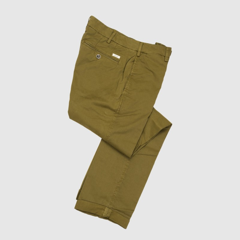 Le Chino Stretch Kaki