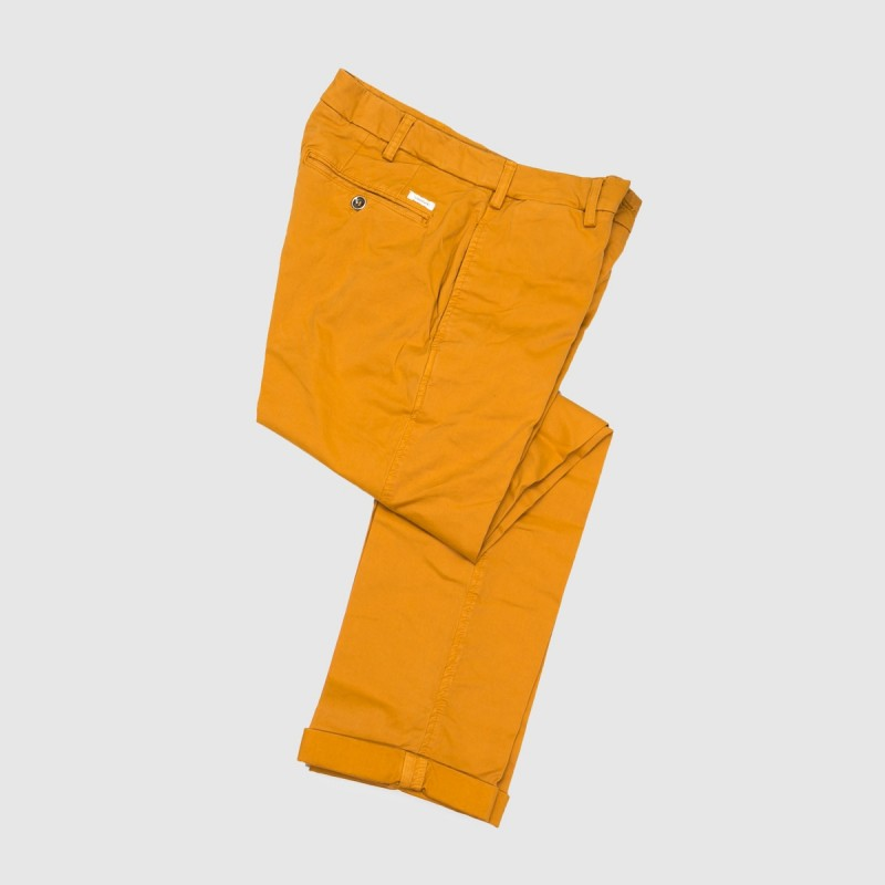 Le Chino Stretch Jaune