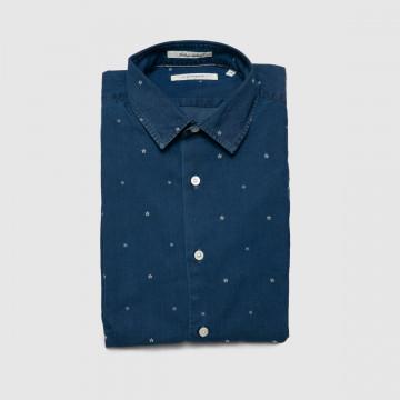 La Chemise Milano Bleu