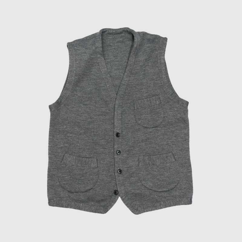 Le Gilet Perfect Wool Gris