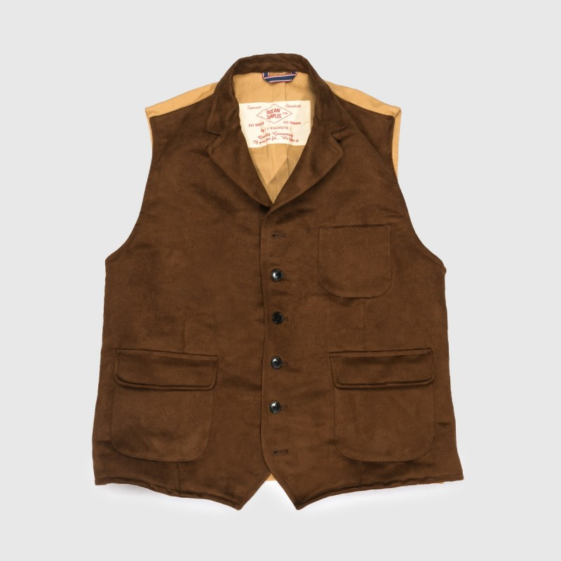 Le Gilet Marius Brown