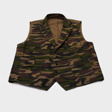 Le Gilet Marius Camouflage