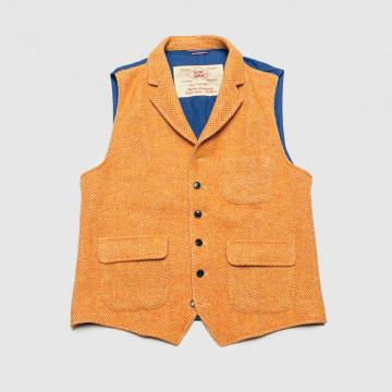 Le Gilet Marius Chevron Orange