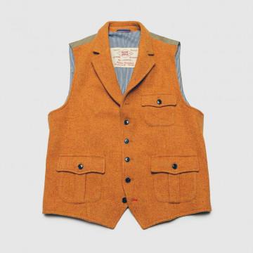 Le Gilet Marius Pocket Orange