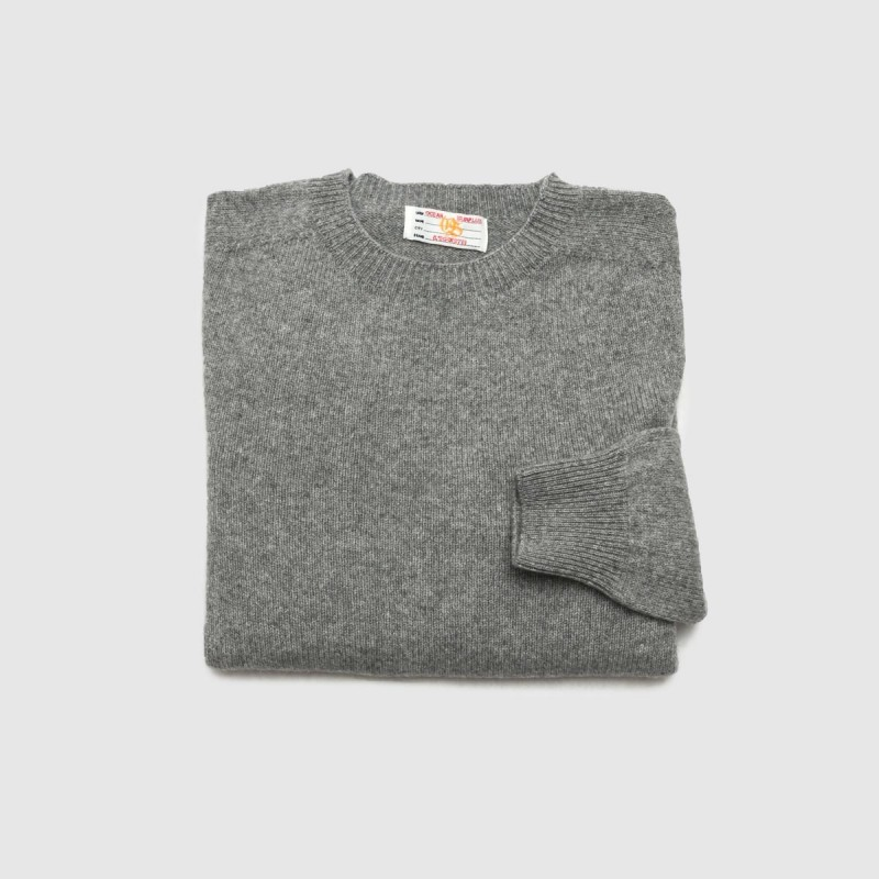 Le Pull Cashmere Col Rond Gris