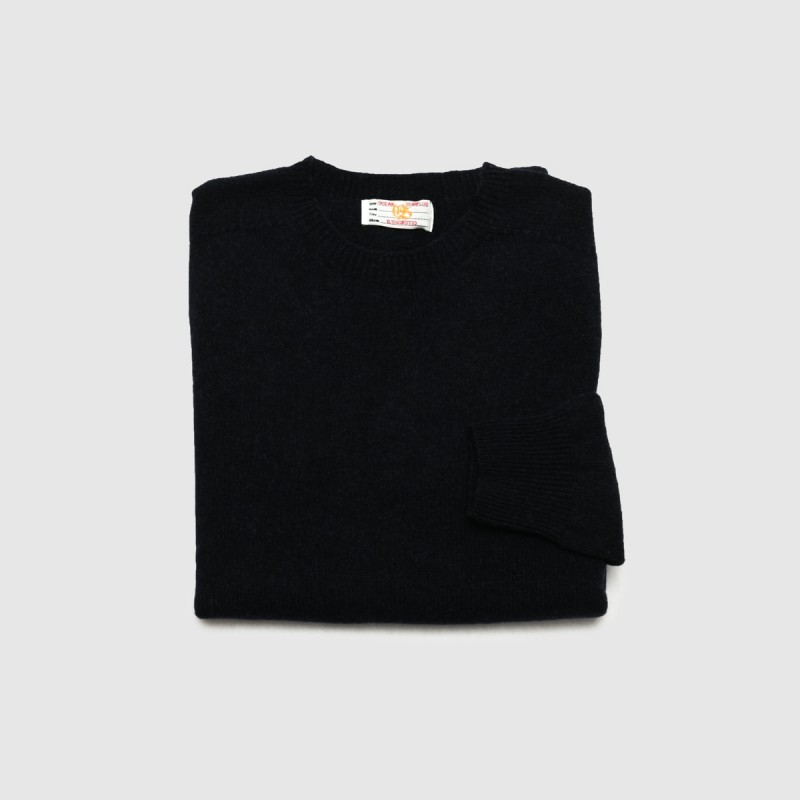 Le Pull Cashmere Col Rond Navy