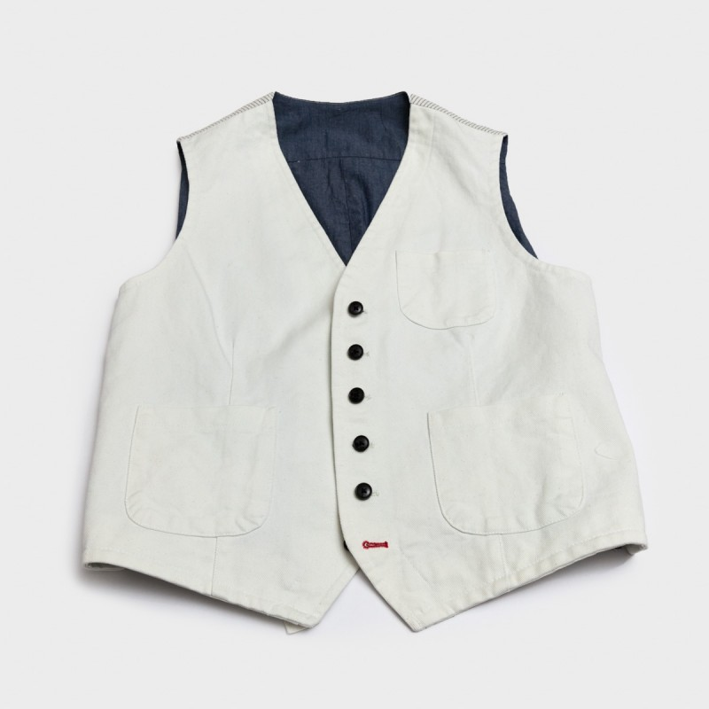 Le Gilet Marius Japan Denim...