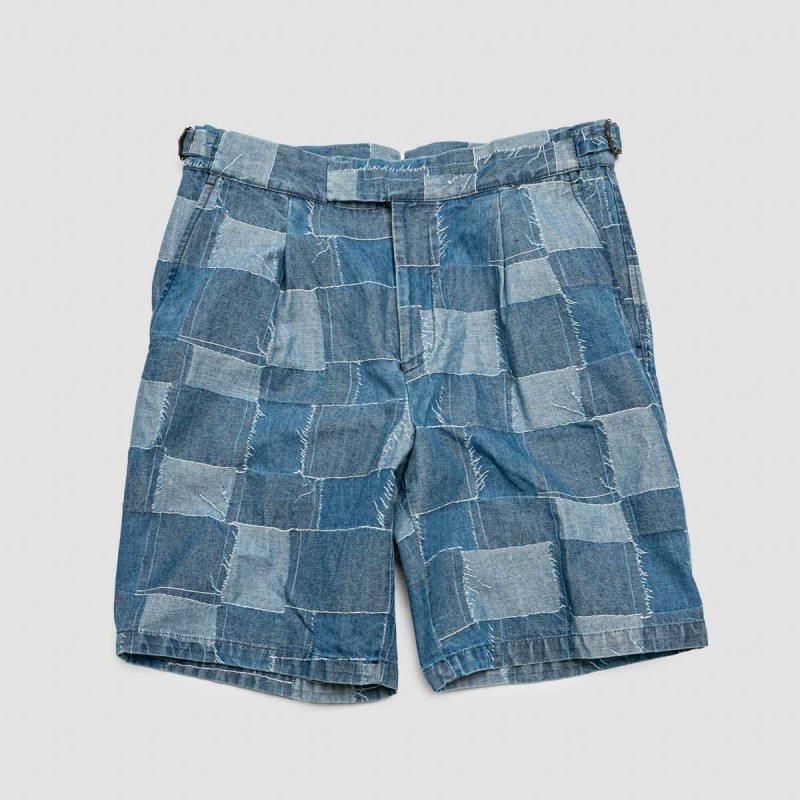 Le Short Albert Patch Denim