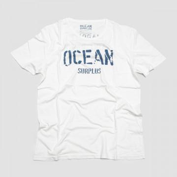 Le T-Shirt Crew OS Blanc