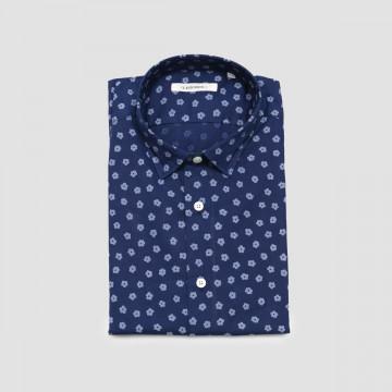 La Chemise Milano Motif Bleu