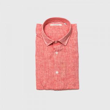 La Chemise Lin CLS Rouge