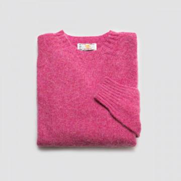 Le Pull Shetland BR Pink