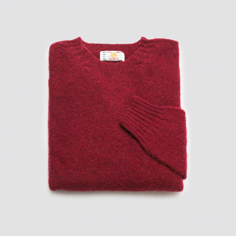 Le Pull Shetland BR Red