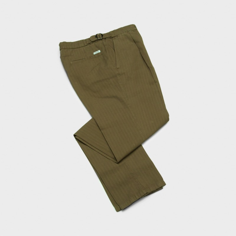 Le Pantalon Albert Summer Kaki