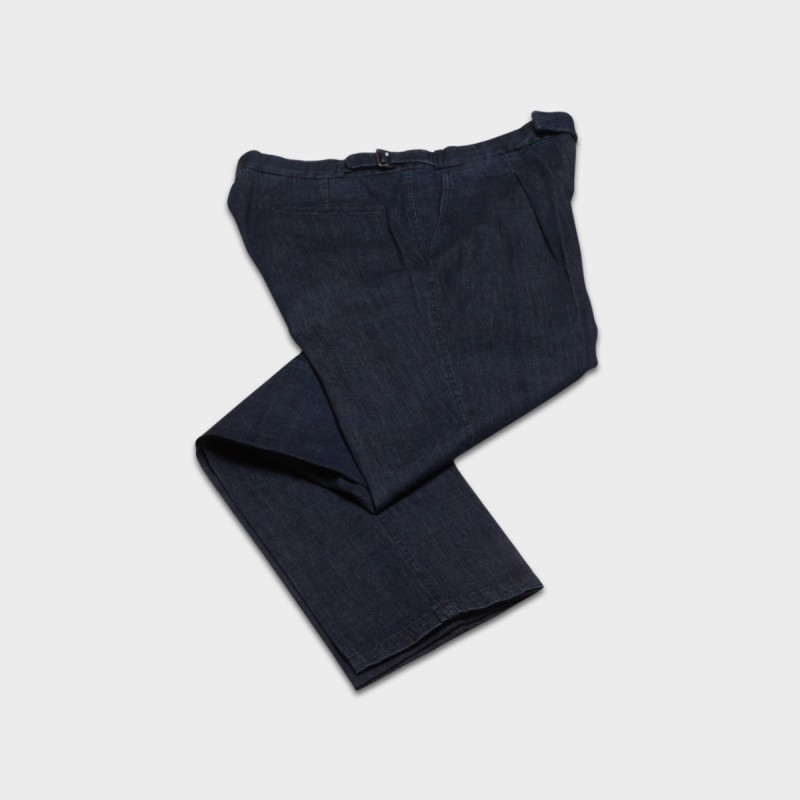 Le Pantalon Albert Denim Lavé