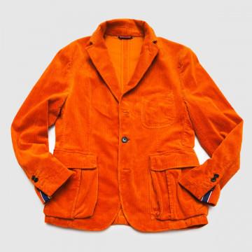 La veste Hooper Velours Orange