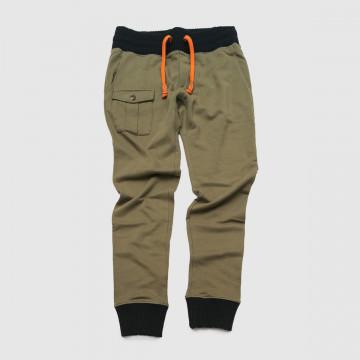 Le pantalon Running Army Kaki