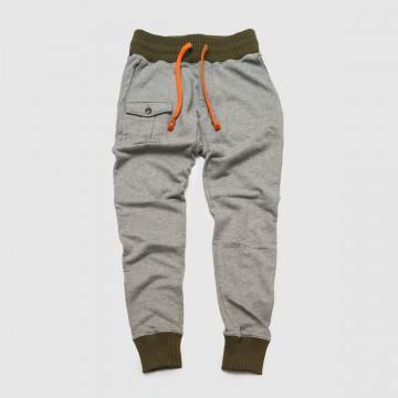 Le pantalon Running Army Gris