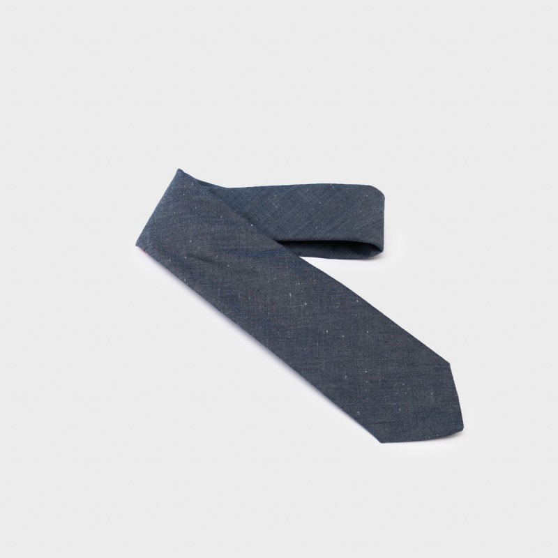 La Cravate Tie Chambray