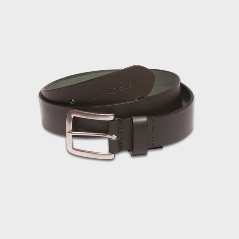 La Ceinture Belt Leather Kaki