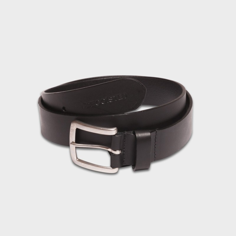 La Ceinture Belt Leather Noir
