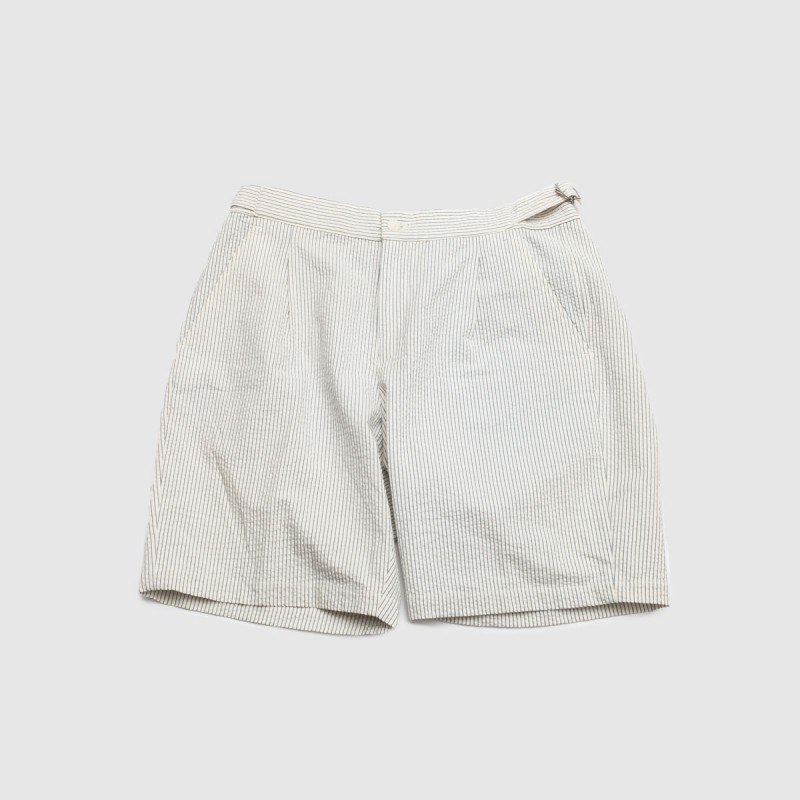Le Cool Short Rayure Craie