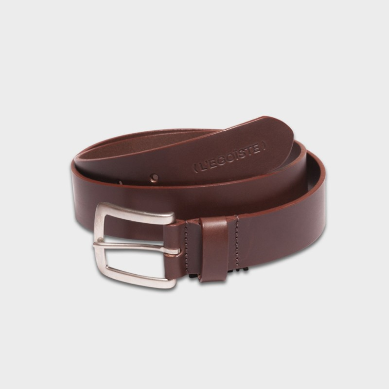 La Ceinture Belt Leather Brun