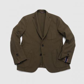 Le Blazer Trendy Piqué Kaki