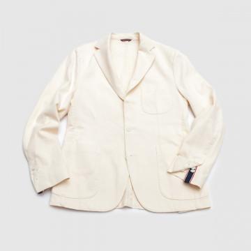 Le Blazer Trendy Piqué Ecru