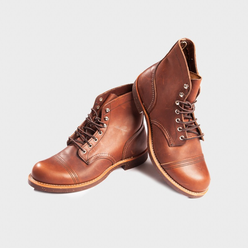 La Redwing Iron Ranger Marron